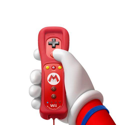 Controle Wii Remote Plus Mario Seminovo - Wii U