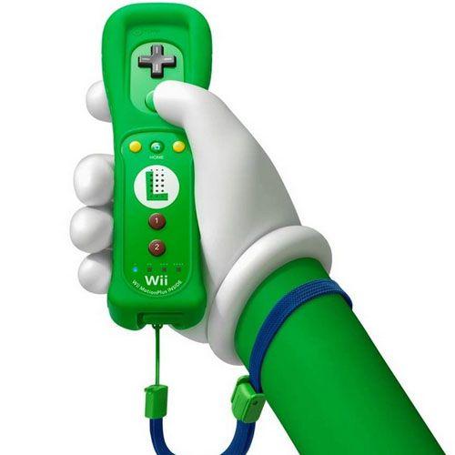 Controle Wii Remote Plus Luigi Seminovo - Wii U
