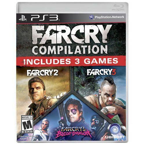 Far Cry Compilation (Far Cry 2 + Far Cry 3) Seminovo - PS3