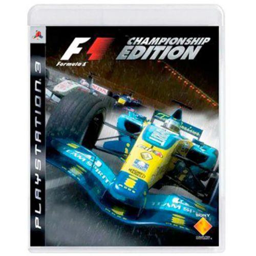 Formula 1 F1 Championship Edition Seminovo - PS3
