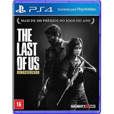 The Last Of Us Remasterizado Seminovo – PS4