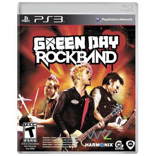 Green Day Rock Band Seminovo - PS3
