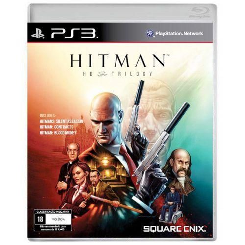 Hitman HD Trilogy Seminovo - PS3