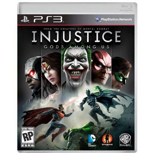 Injustice Gods Among Us Seminovo - PS3