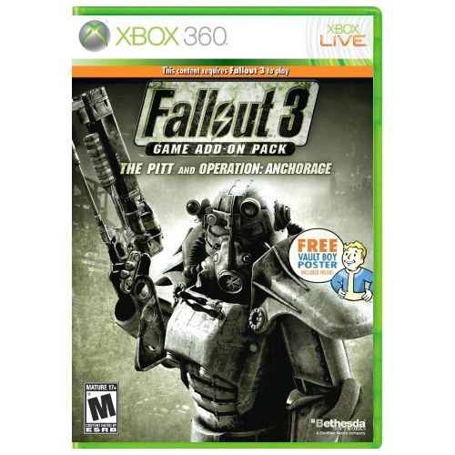 Fallout 3 Game Add-On Pack - The Pitt and Operation: Anchorage Seminovo – Xbox 360