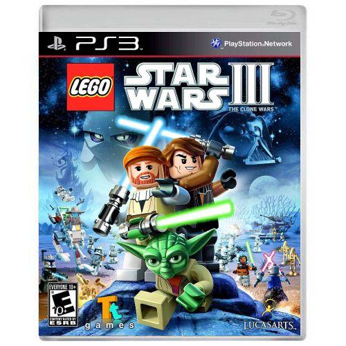 LEGO Star Wars III The Clone Wars Seminovo - PS3