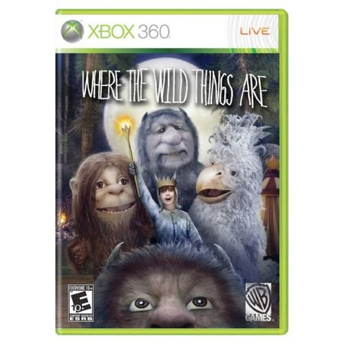 Where the Wild Things Are Seminovo – Xbox 360