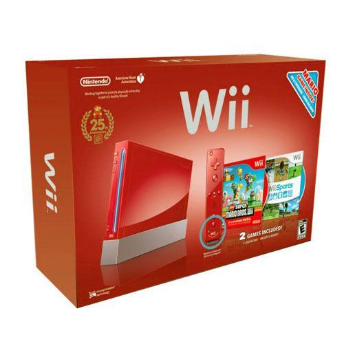 Console Nintendo Wii Edição 25 anos Super Mario Seminovo