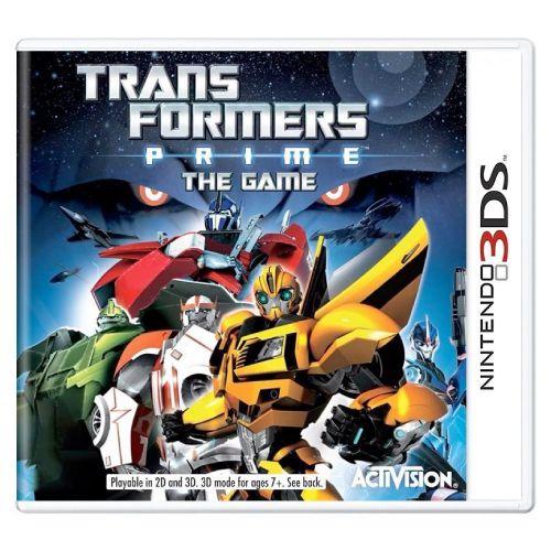 Transformers Prime the Game Seminovo - 3DS