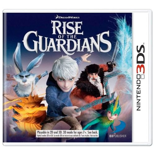Rise of the Guardians Seminovo - 3DS