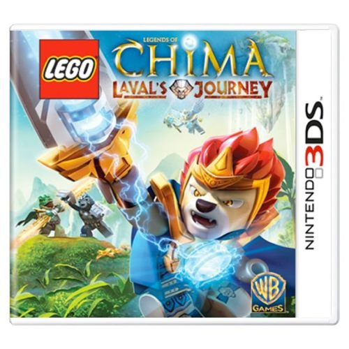 Lego Legends Of Chima Laval's Journey Seminovo – 3DS