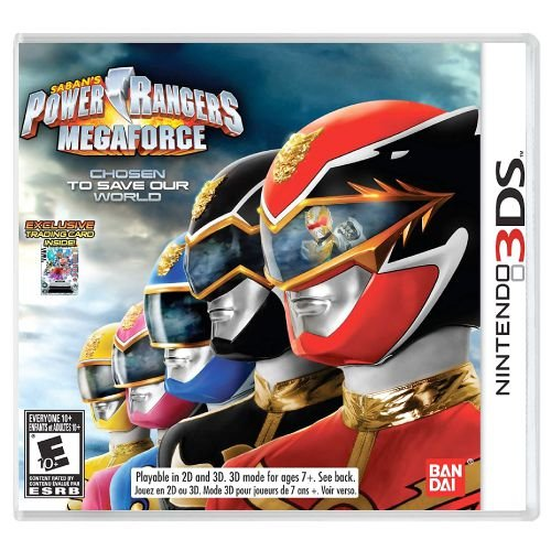 Power Rangers Megaforce Seminovo - 3DS