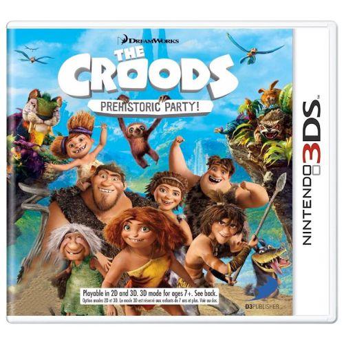 The Croods Prehistoric Party Seminovo - 3DS