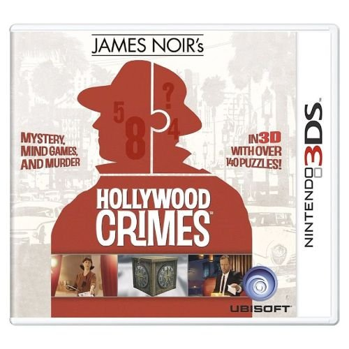 James Noir's Hollywood Crimes Seminovo - 3DS