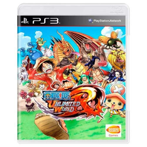 One Piece Unlimited World Red Seminovo - PS3