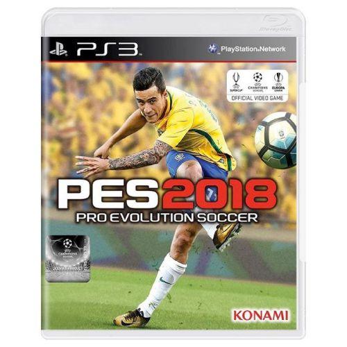 PES Pro Evolution Soccer 2018 Seminovo – PS3