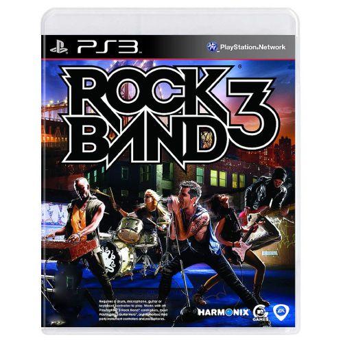 Rock Band 3 Seminovo - PS3