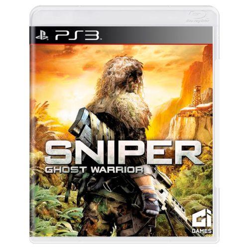 Sniper Ghost Warrior Seminovo - PS3