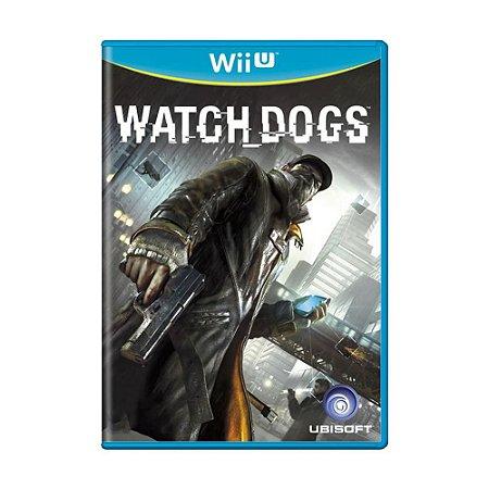 Watch Dogs Seminovo - Wii U