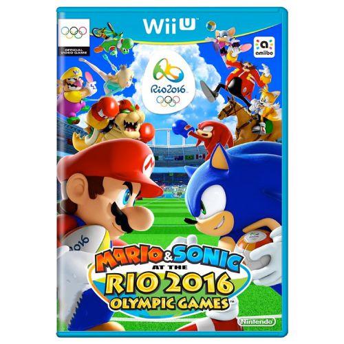 Mario & Sonic at the Rio 2016 Seminovo - Wii U
