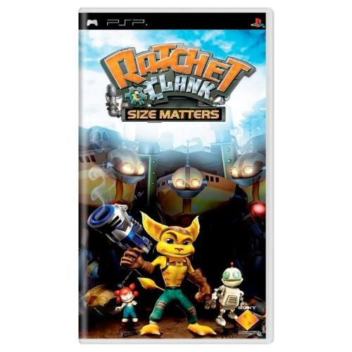 Ratchet & Clank Size Matters - PSP