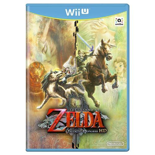 The Legend of Zelda Twilight Princess HD Seminovo - Wii U
