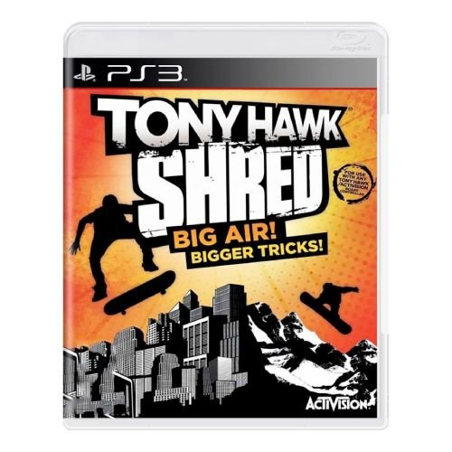 Tony Hawk Shred Seminovo - PS3