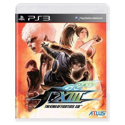 The King of Fighters XIII Seminovo - PS3