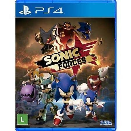 Sonic Forces Seminovo - PS4