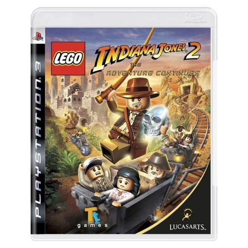 LEGO Indiana Jones 2 The Adventure Continues Seminovo - PS3
