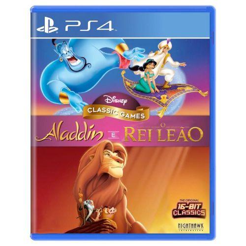 Disney Classic Games Aladdin e O Rei Leão Seminovo - PS4