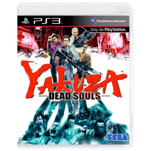 Yakuza: Dead Souls Seminovo - PS3