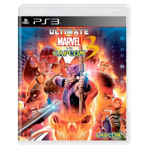 Ultimate Marvel Vs. Capcom 3 Seminovo - PS3