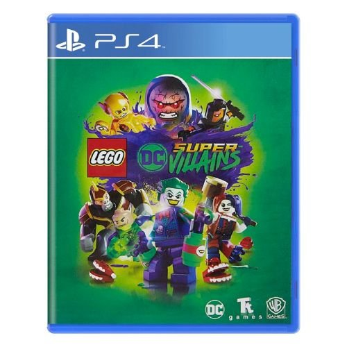 LEGO DC Super-Villains Seminovo – PS4