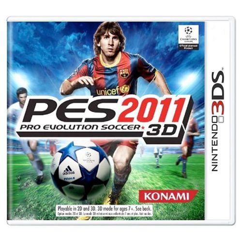 Pro Evolution Soccer 2011 3D (PES 11) Seminovo - 3DS