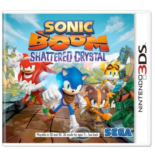 Sonic Boom Shattered Crystal Seminovo- 3DS