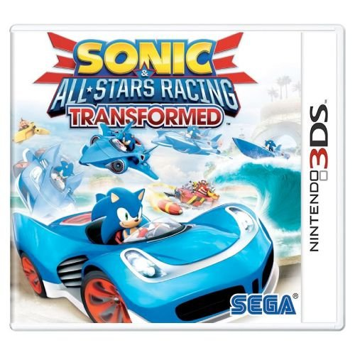 Sonic All-Star Racing Transformed Seminovo - 3DS