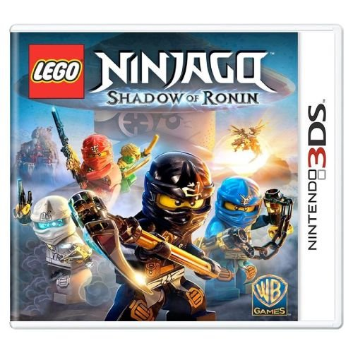 LEGO Ninjago Shadow of Ronin Seminovo - 3DS
