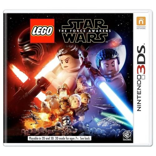 LEGO Star Wars The Force Awakens Seminovo - 3DS