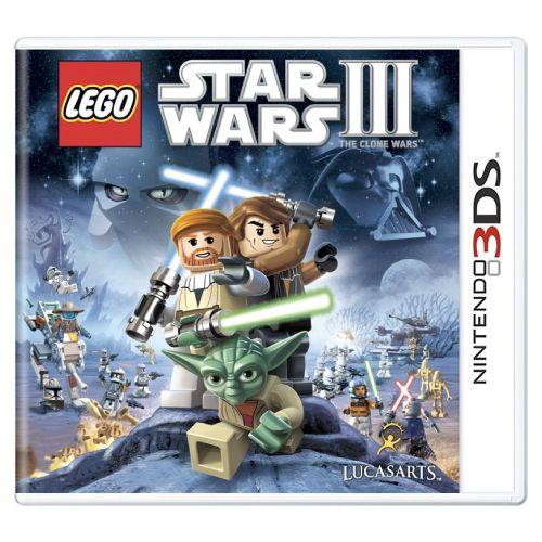 Lego Star Wars III The Clone Wars Seminovo - 3DS