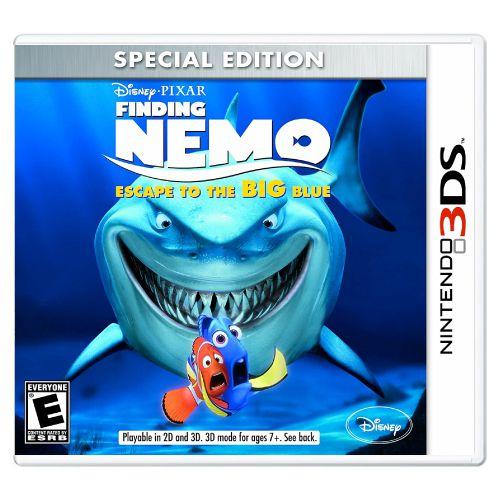 Finding Nemo Escape to the Big Blue Seminovo - 3DS