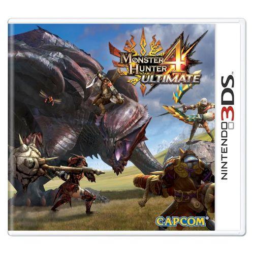 Monster Hunter 4 Ultimate Seminovo - 3DS
