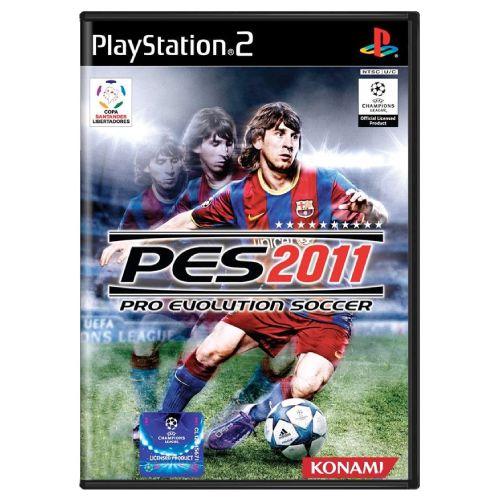 Pro Evolution Soccer PES 2011 Seminovo - PS2