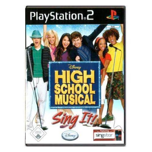Disney High School Musical Sing It! – PS2