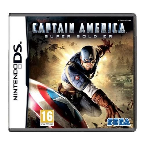 Captain America: Super Soldier Seminovo - DS