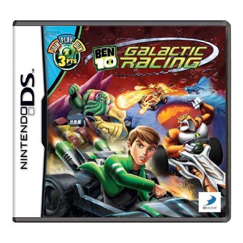 Ben 10: Galactic Racing Seminovo - DS