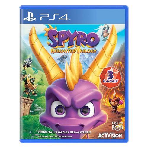Spyro Reignited Trilogy Seminovo - PS4