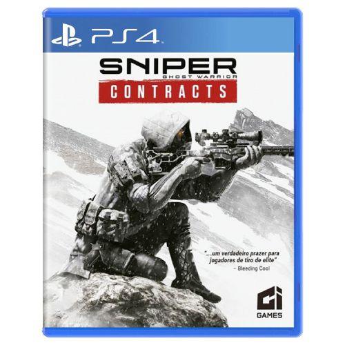 Sniper Ghost Warrior Contracts Seminovo - PS4