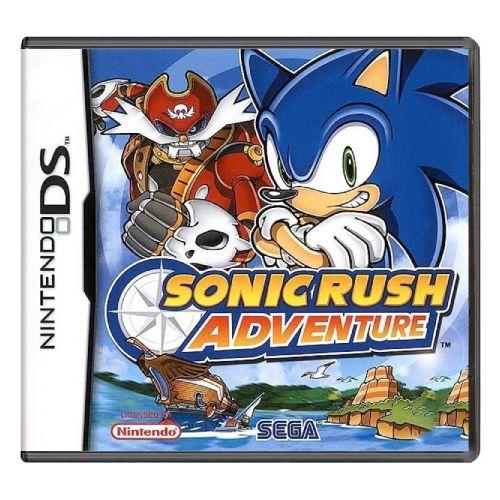Sonic Rush Adventure Seminovo - Nintendo DS