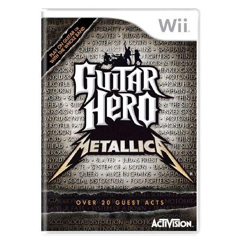 Guitar Hero Metallica Seminovo - Wii